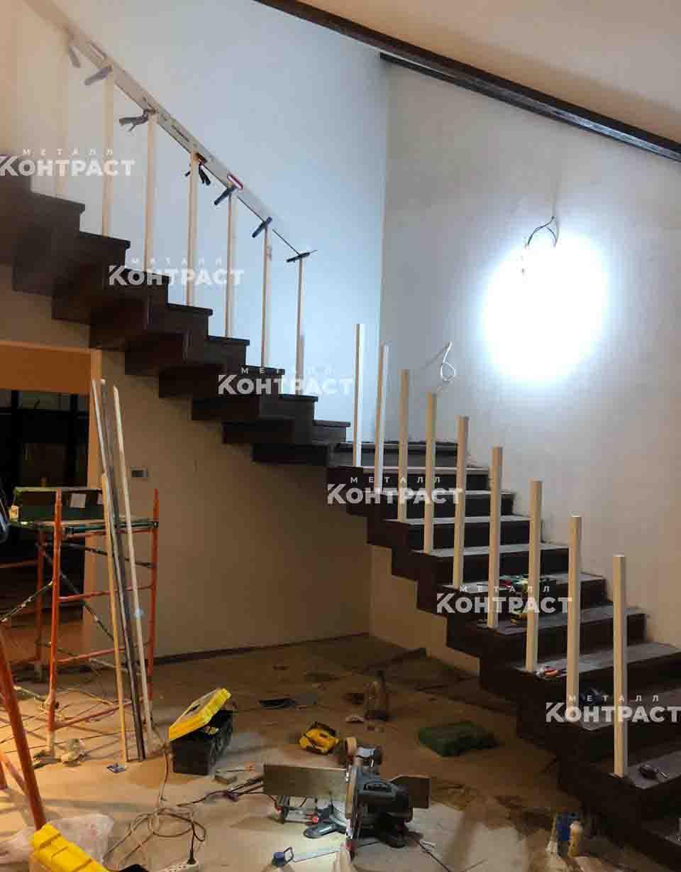 Ход работ_дизайнерская лестница