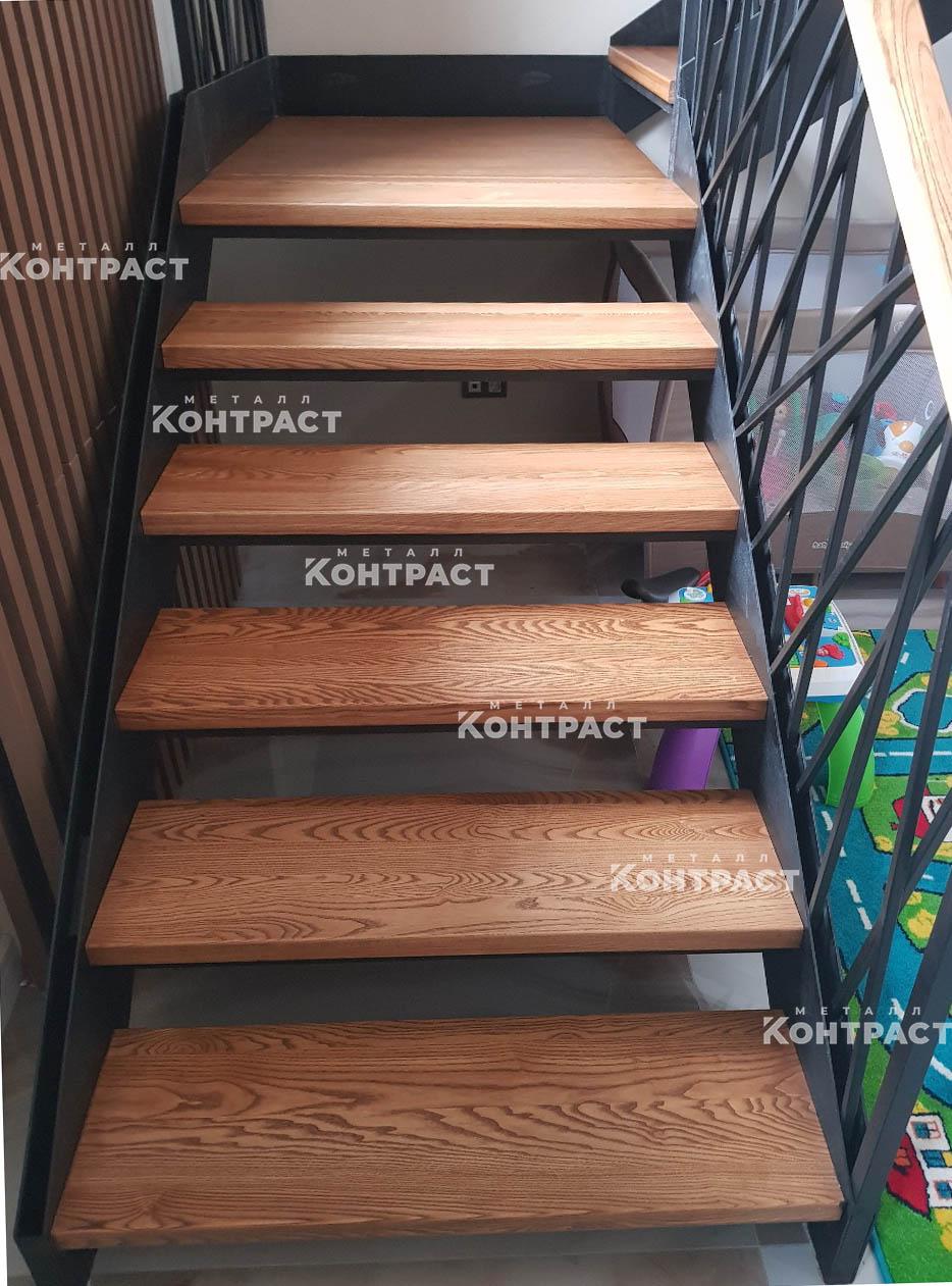 Изготовление лестниц на металлокаркасе
